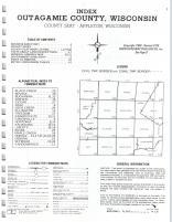Index Map, Outagamie County 1977